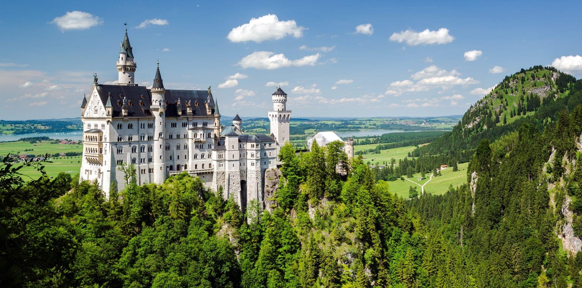 Bavarian castle in Germany