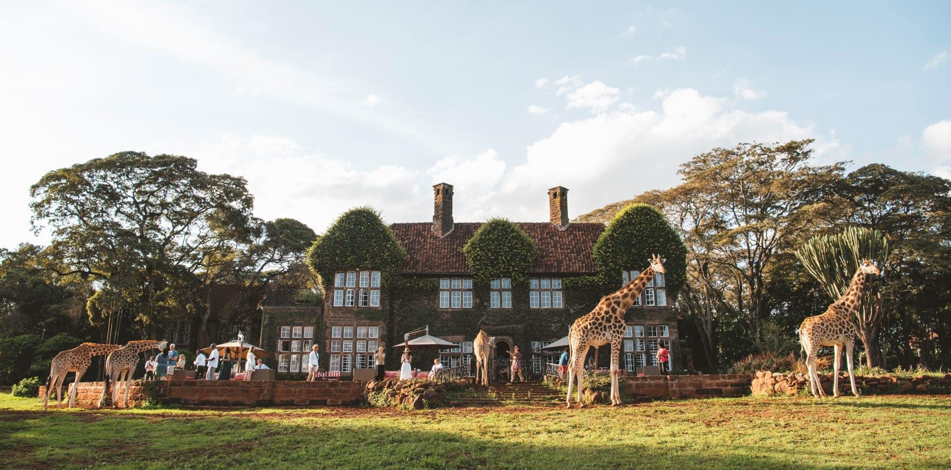 Kenya Giraffe Manor Exterior