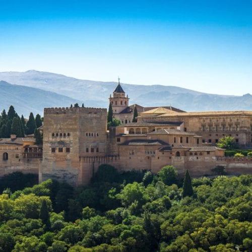 Granada Alhambra in Spain