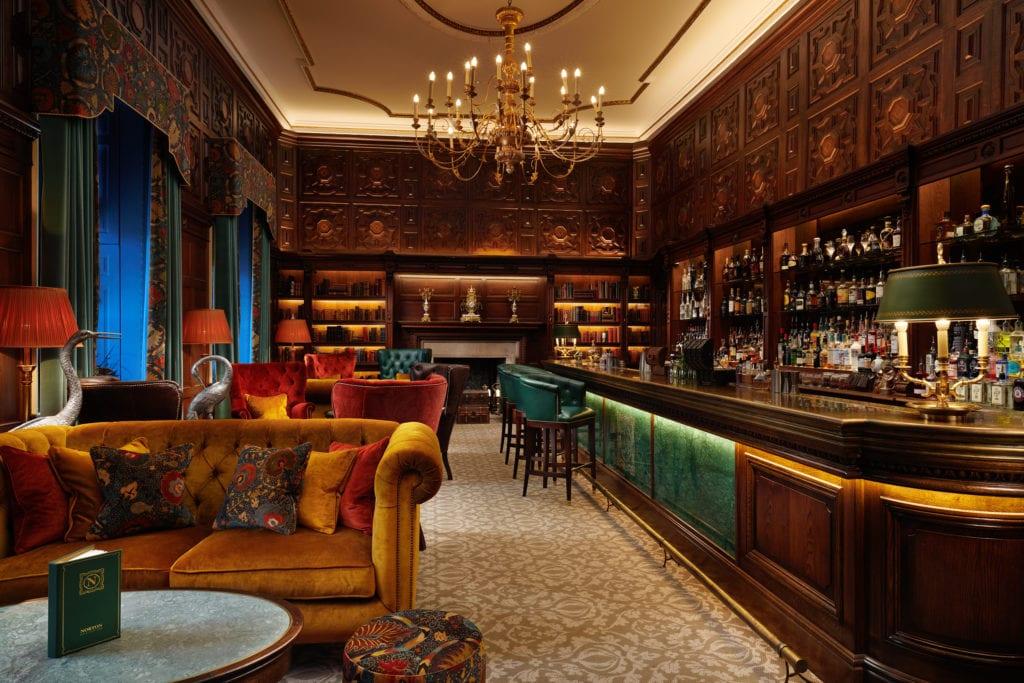 Grantley Hall Norton Bar Interior Yorkshire England