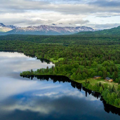 HERO Alaska Winterlake Lodge Exterior