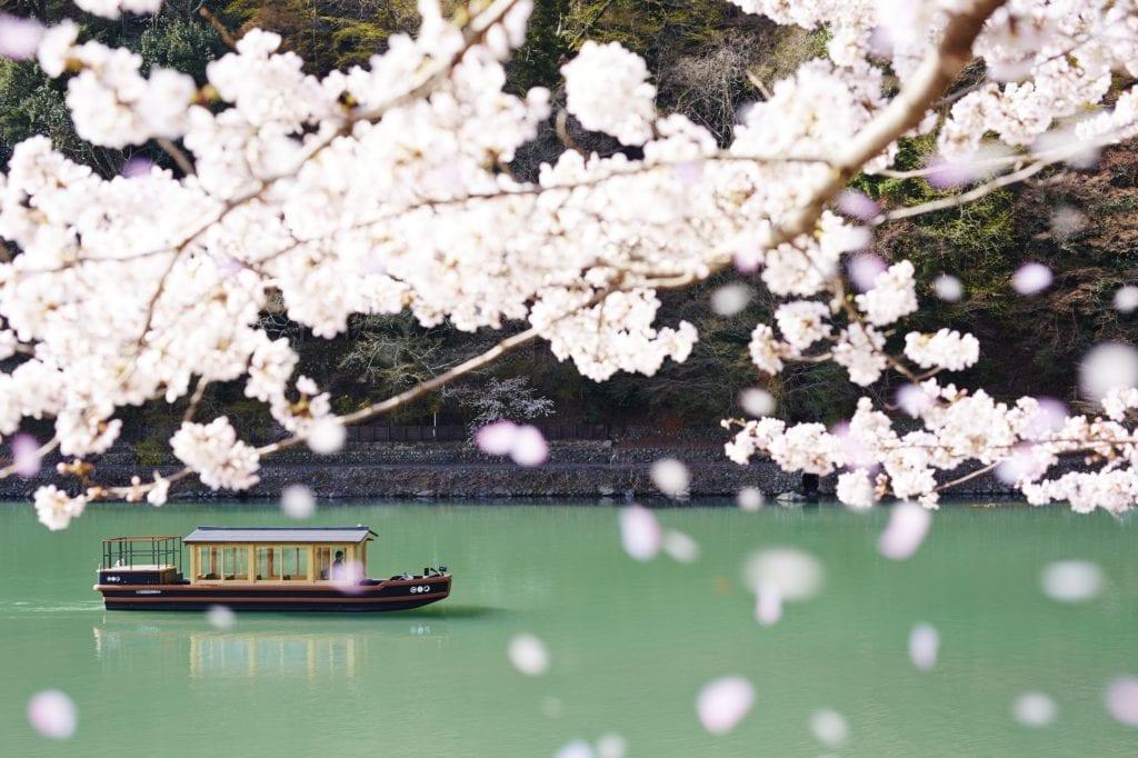 HOSHINOYA Kyoto Boat Check In