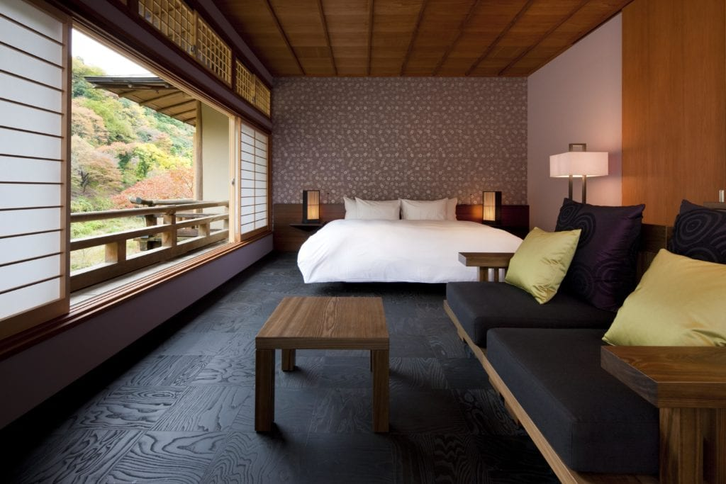 Hoshinoya Kyoto Guest Room