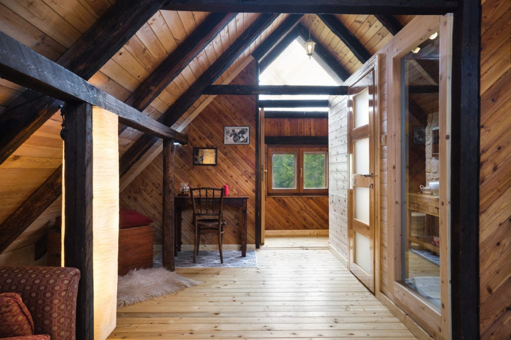 Interior of Accommodation at Linden Tree Retreat and Ranch in Croatia