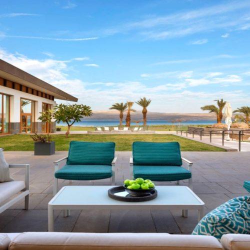 HERO Israel The Setai Sea of Galilee Outdoor Lounge
