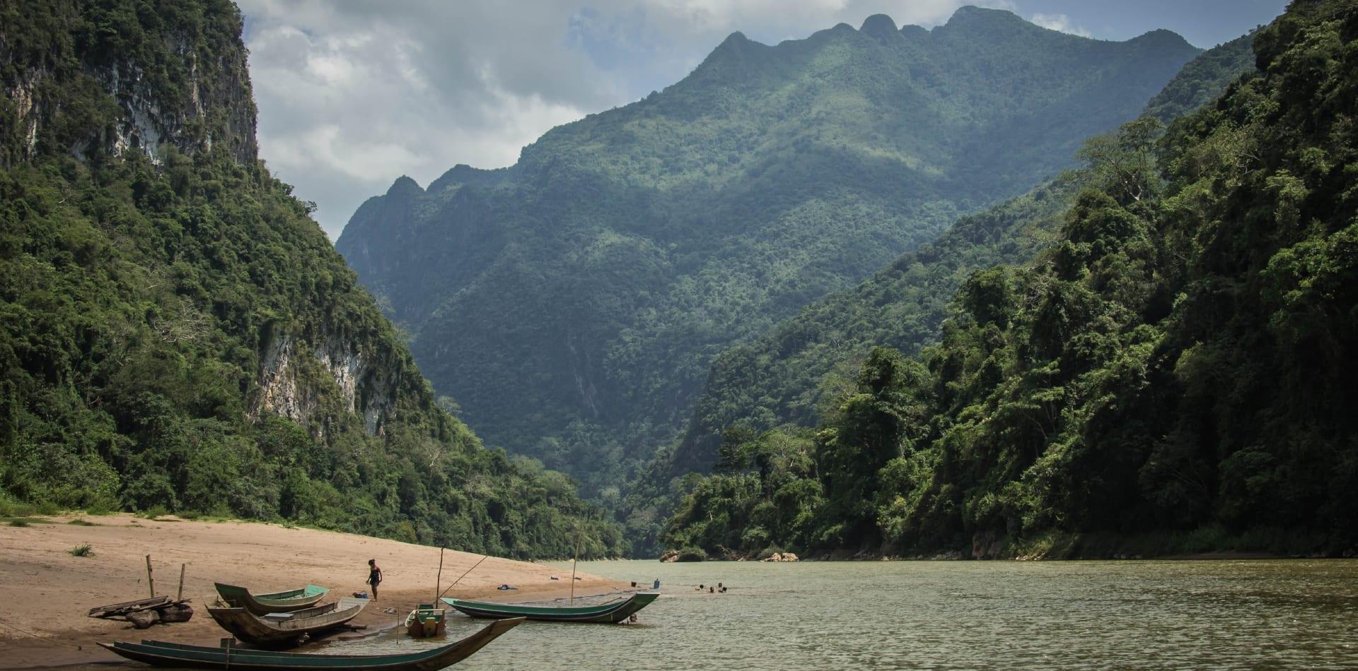 Mekong River in Laos