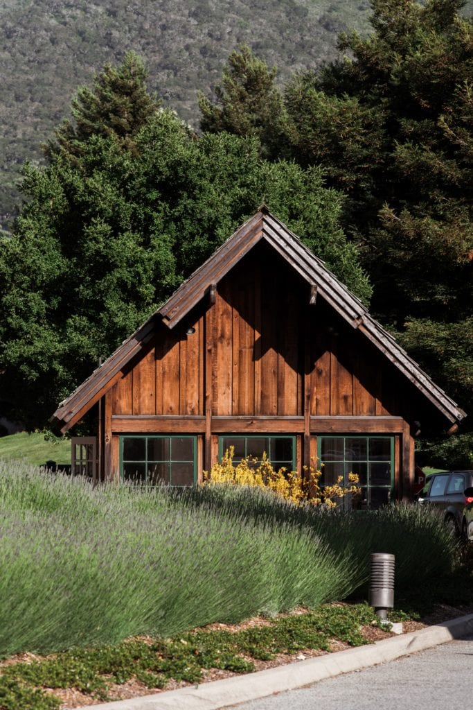 Lodge Architecture at Carmel Valley Ranch Exterior America
