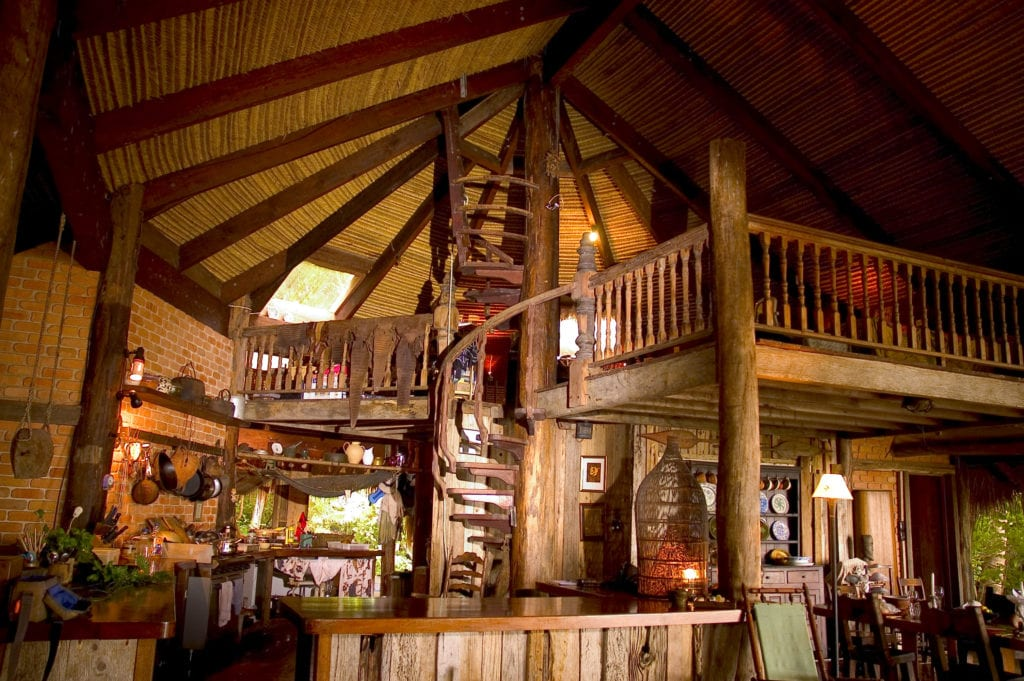 Lounge Area Interior at Haggerstone Island Australia