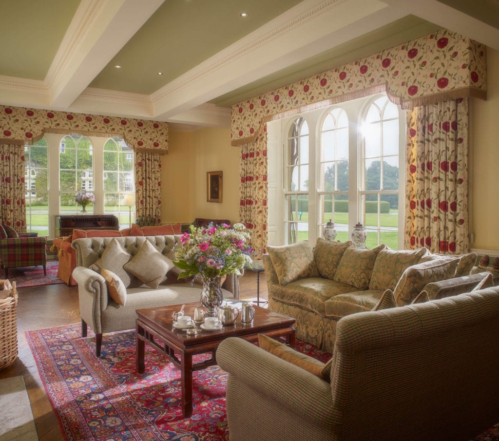 Lounge Interior at Swinton Estate Yorkshire England