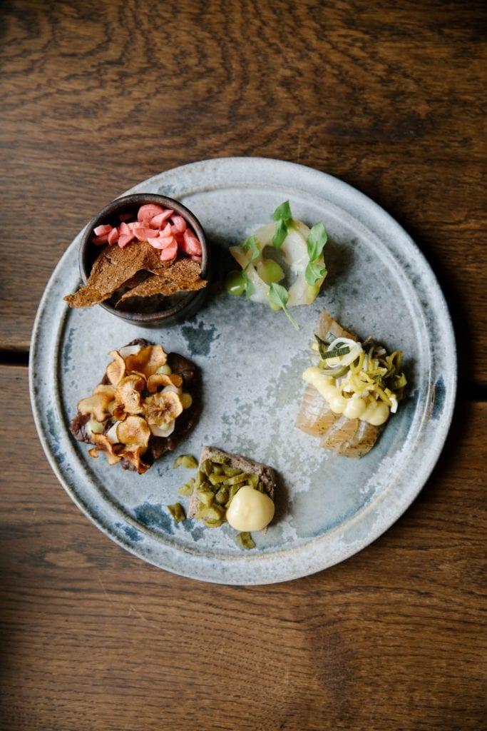 Gourmet Lunch Platter at Historic Restaurant Ilmanaq Lodge Greenland