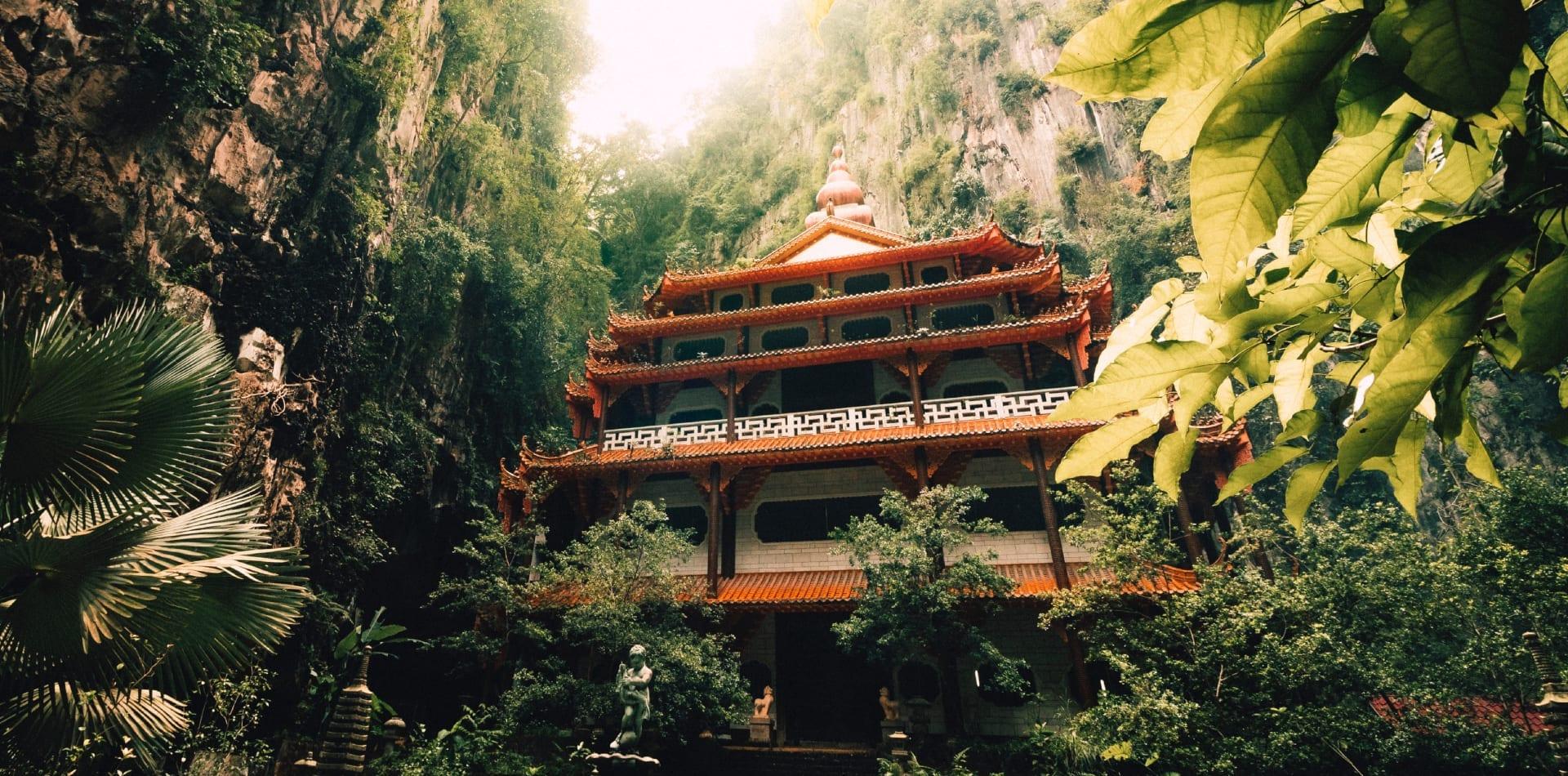 Jungle temple in Malaysia