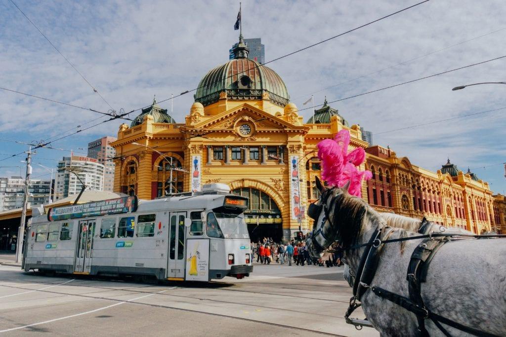 Melbourne Australia City Scene Photo by Weyne Yew