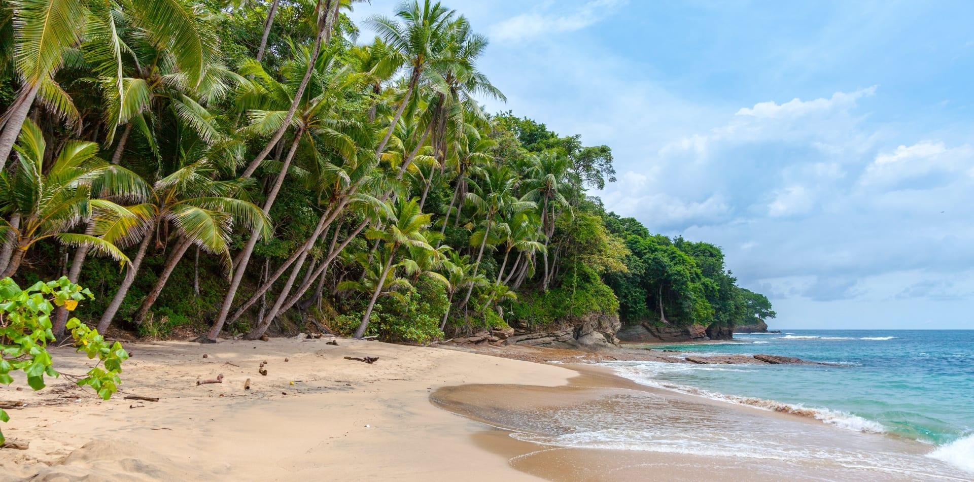 Idyllic Panama beach
