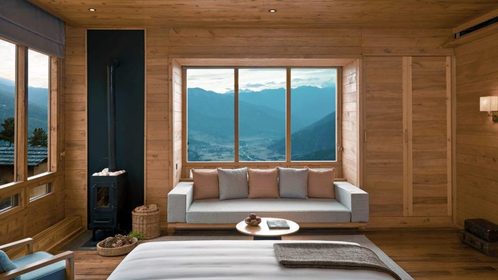 Bhutan Six Sense Paro Bedroom