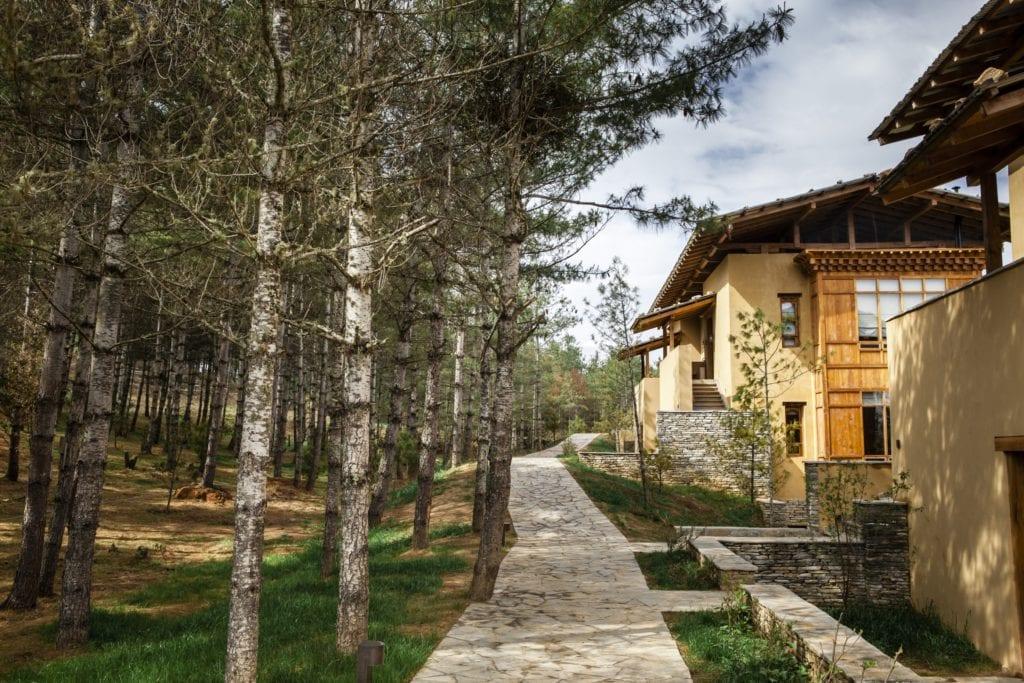 Bhutan Six Senses Paro Exterior