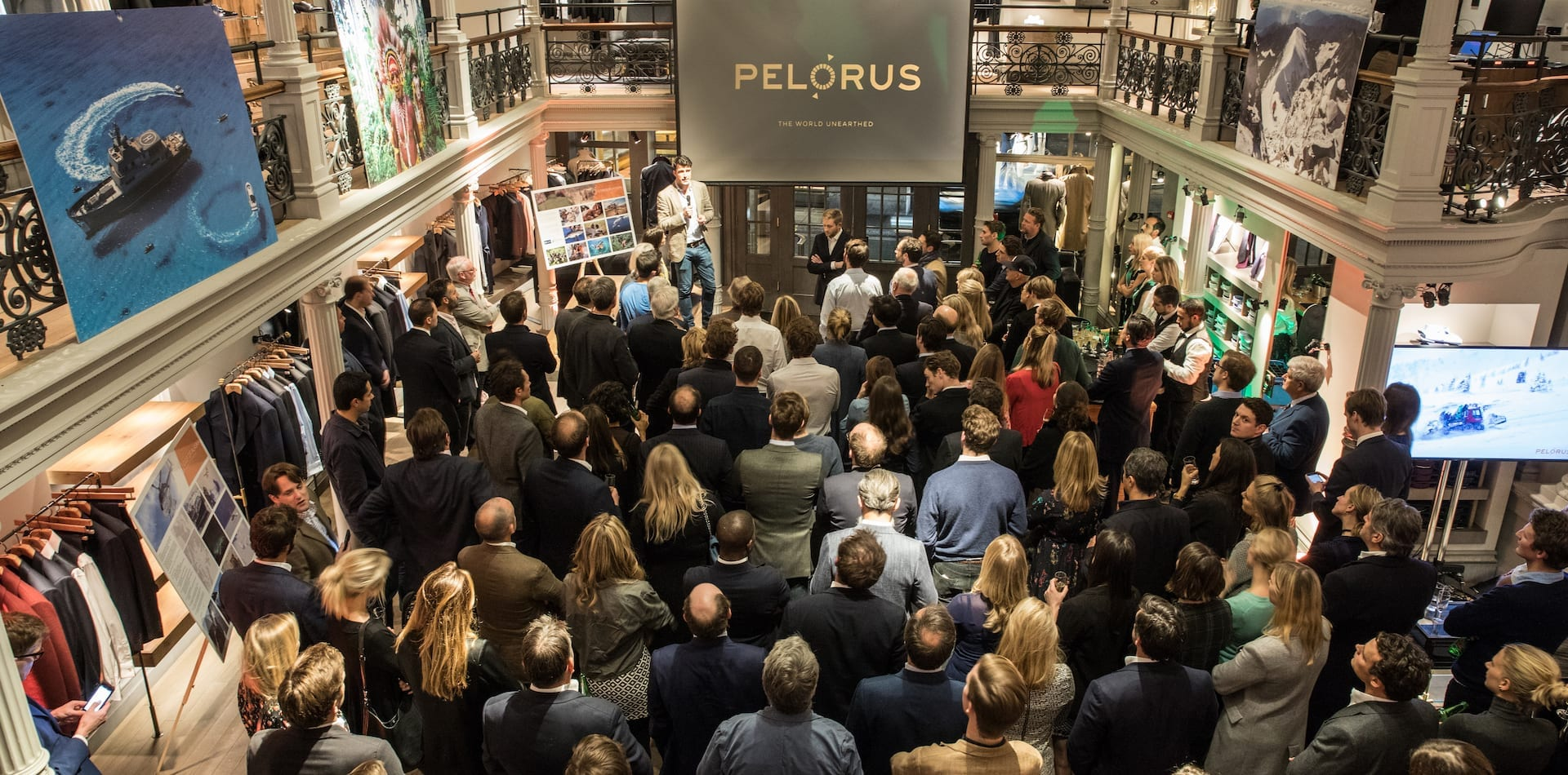 Gieves and Hawkes Pelorus Launch