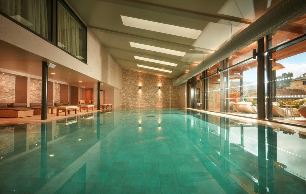 Pool Indoor at Swinton Estate Yorkshire England