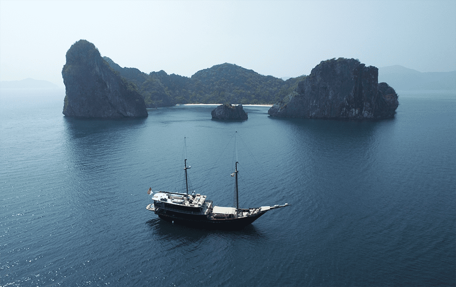 Mergui Archipelago and Yacht