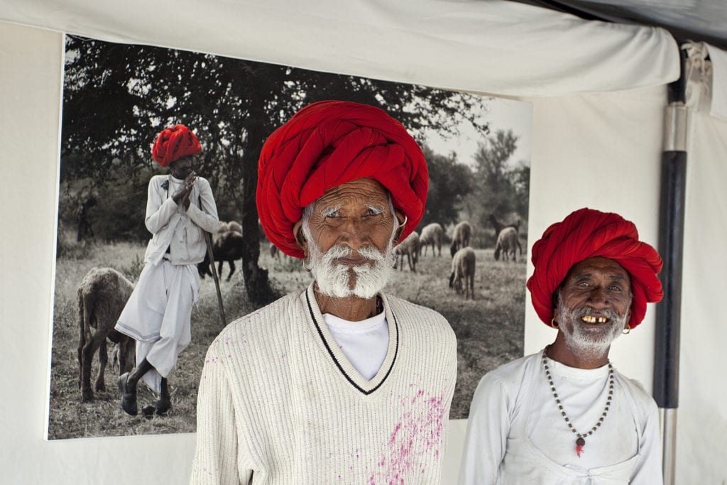 Local Rabari men in Rajasthan