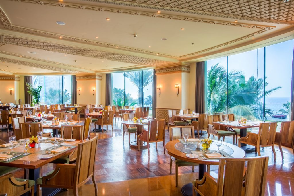 Interior of Restaurant at Rosewood Jeddah Saudi Arabia