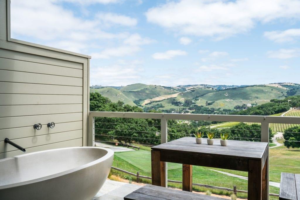 Room Bathroom Balcony Carmel Valley Ranch America