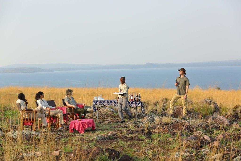 Tanzania Rubondo Island Sundowners