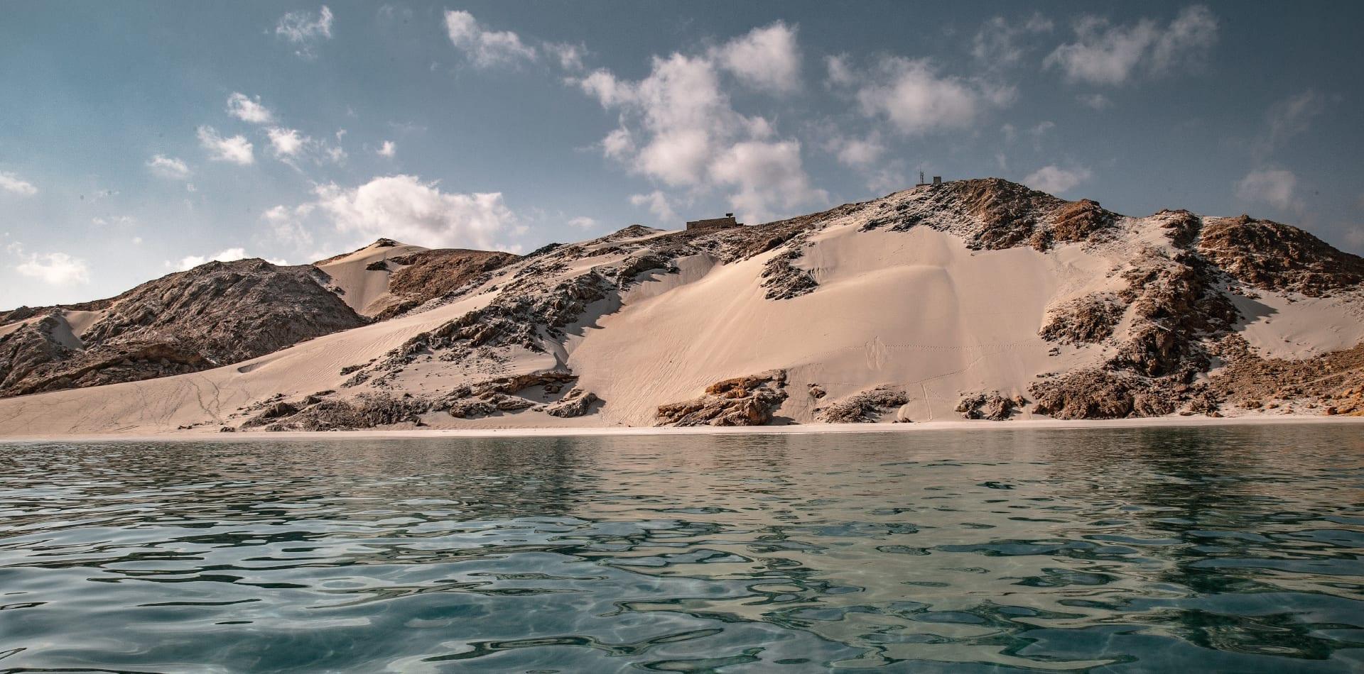 Socotra coastline in Yemen