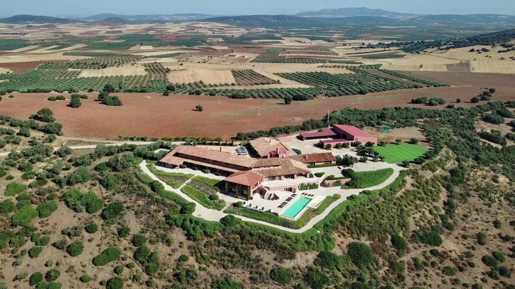 Aerial Spain Barranco