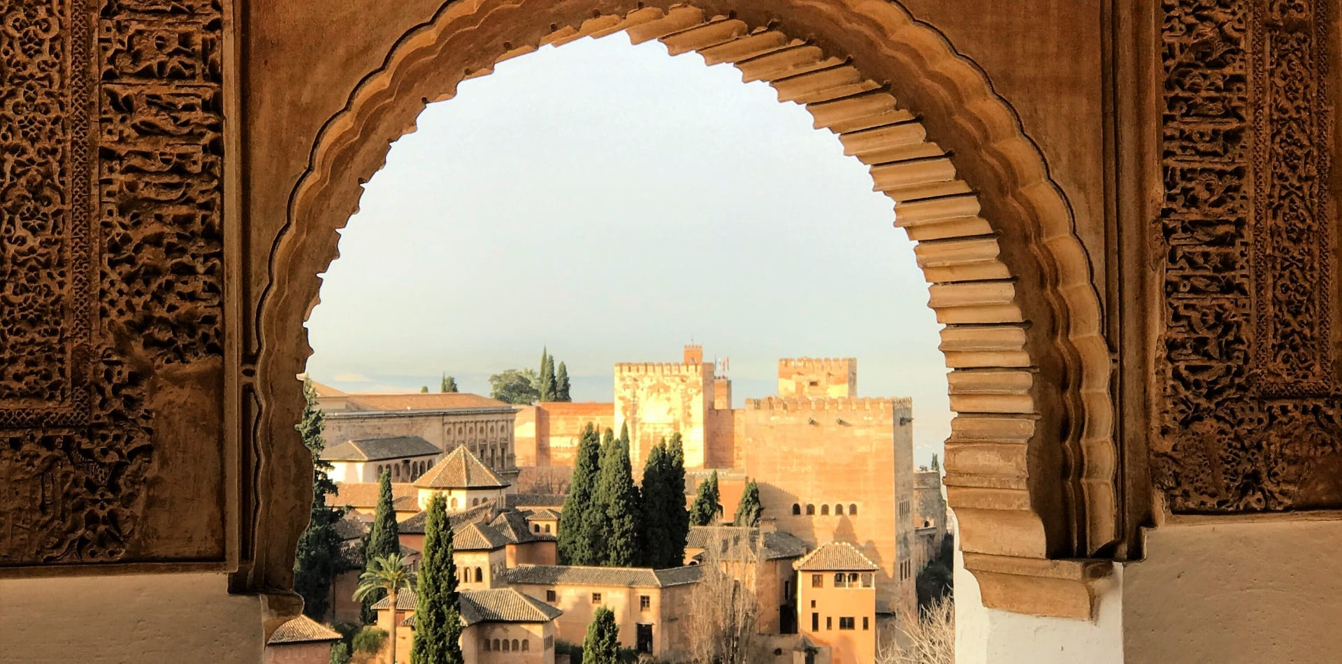 Alhambra de Granada in Spain