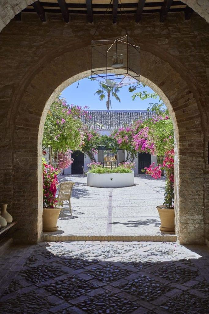 Spain Hacienda Courtyards