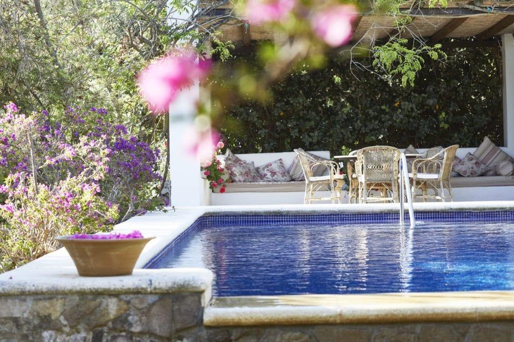 Spain Hacienda Garden