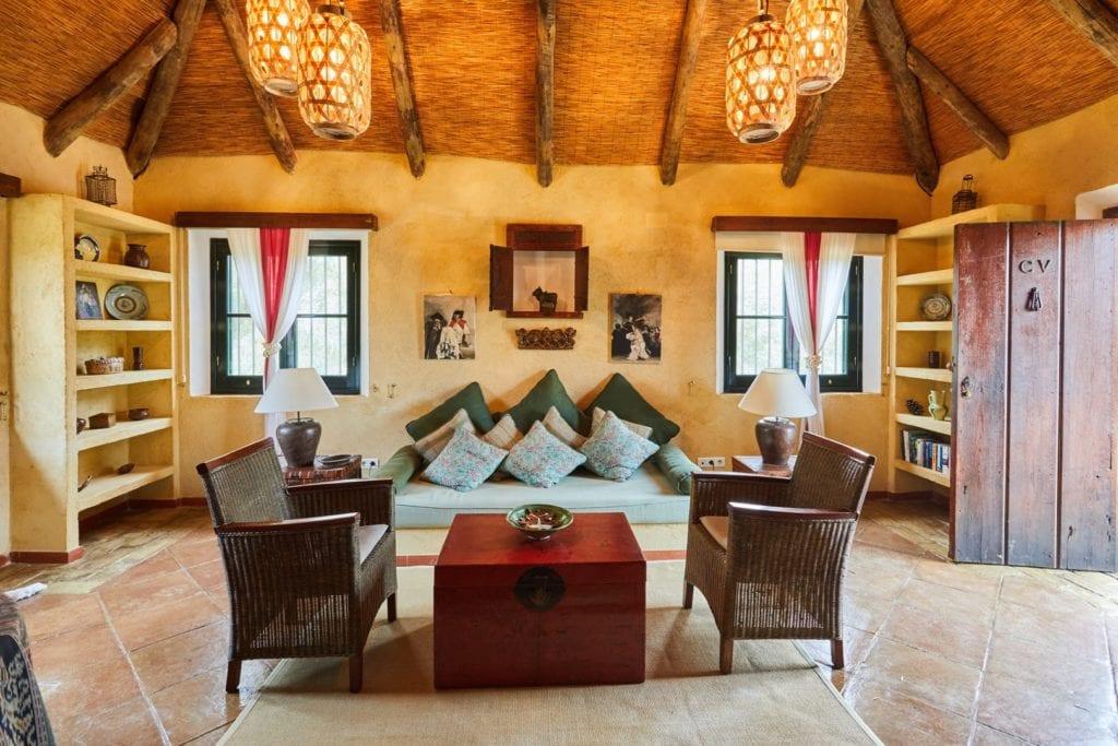 Spain Hacienda Living Room