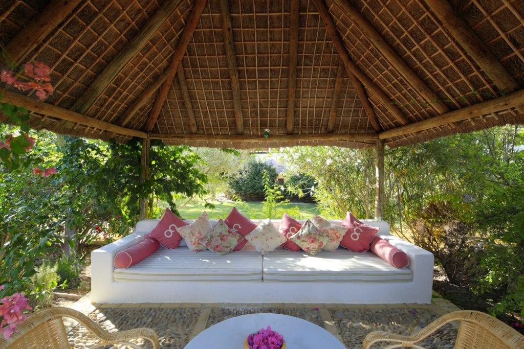 Spain Hacienda Outdoor Lounge