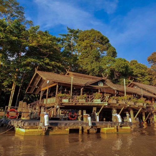 Sukau Rainforest Lodge Jetty