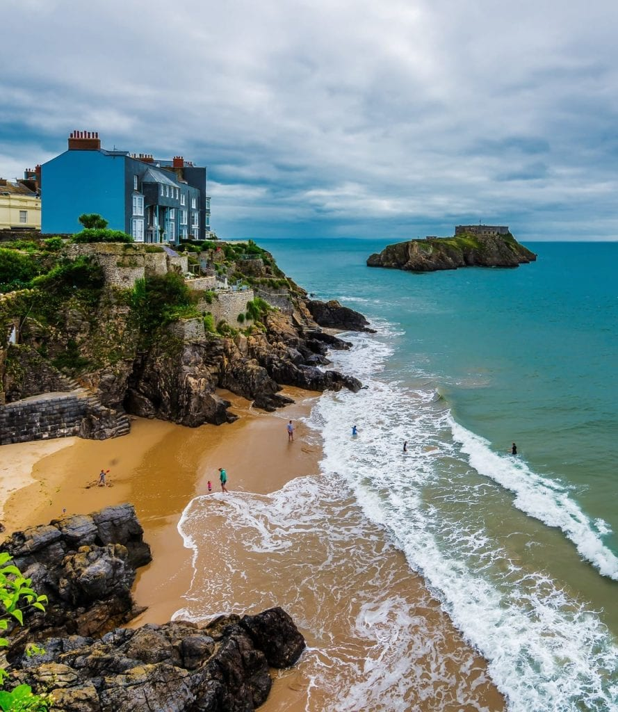Tenby Pembrokeshire Wales Coastal Town