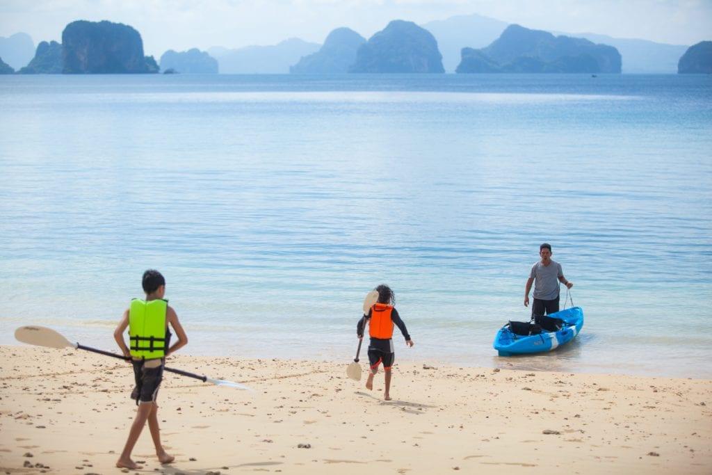 Thailand Ani Villas Kids Kayak