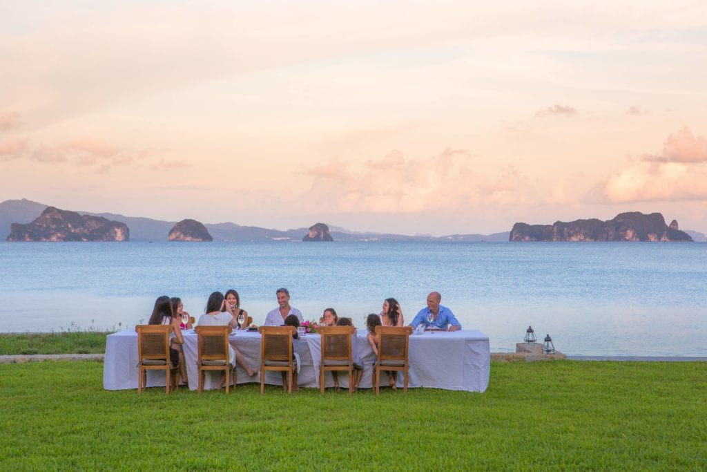 Thailand Ani Villa Dining Lawn