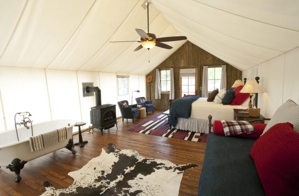Sweet Grass Lodge Interior The Ranch at Rock Creek America
