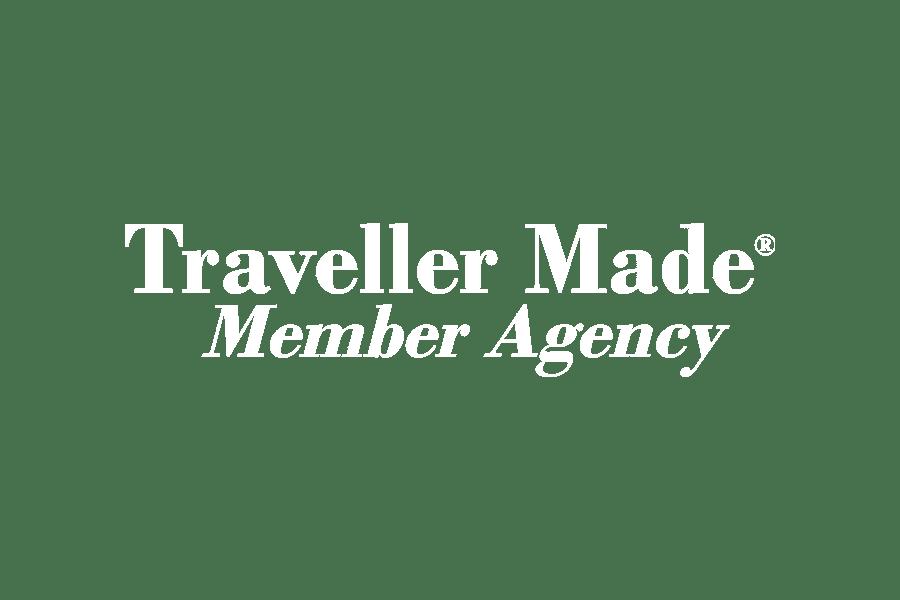 white logo traveller made