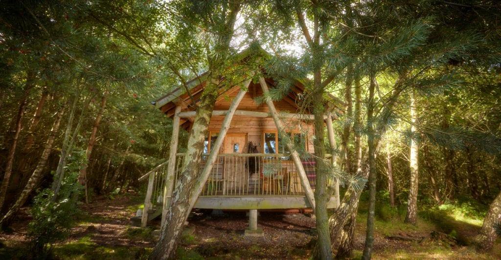 Tree Lodge Swinstone Estate Yorkshire England
