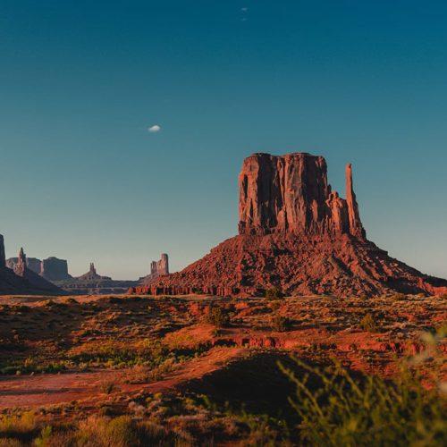 Sunset Utah Desert