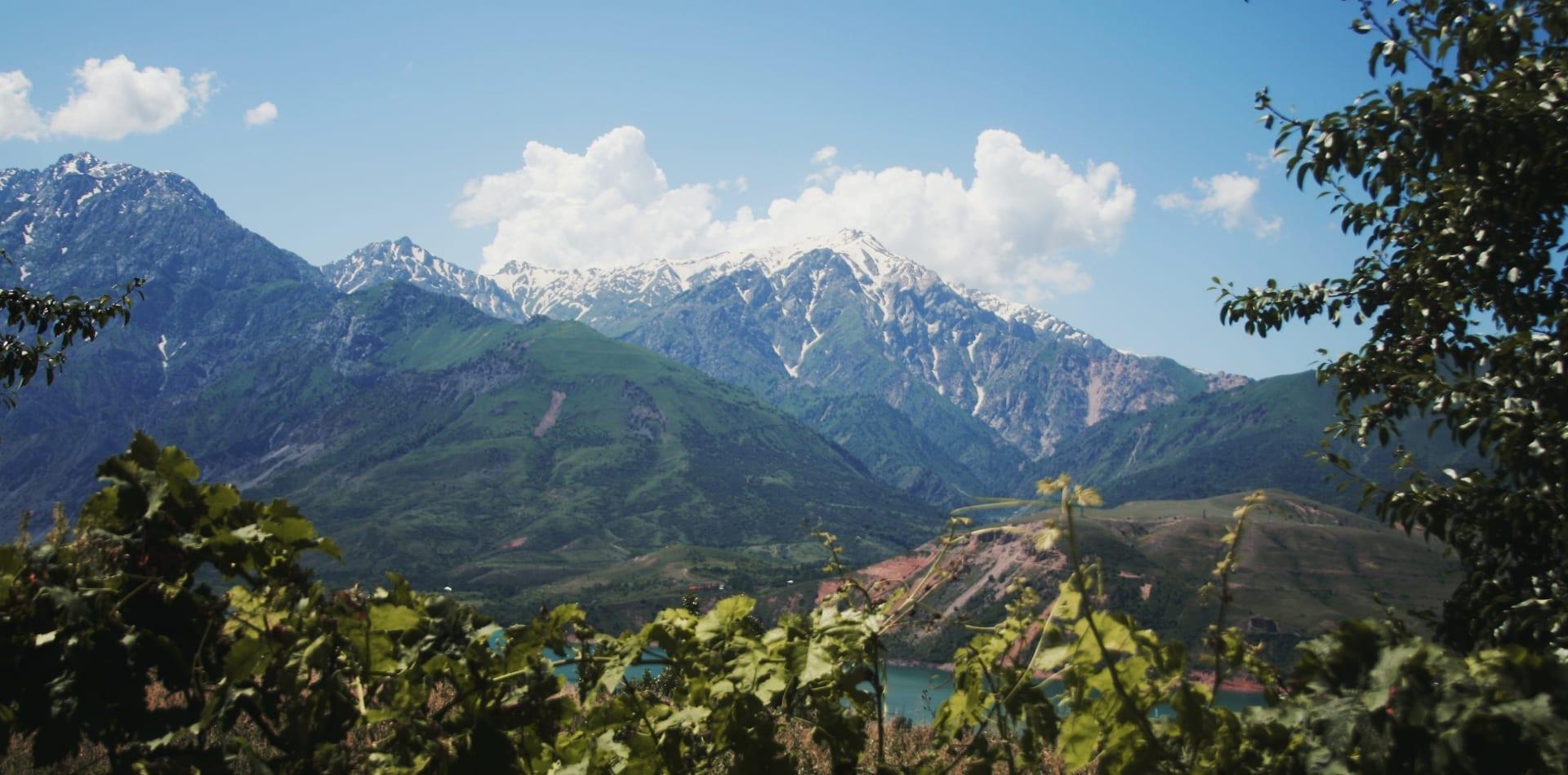 Mountain range in Uzbekistan