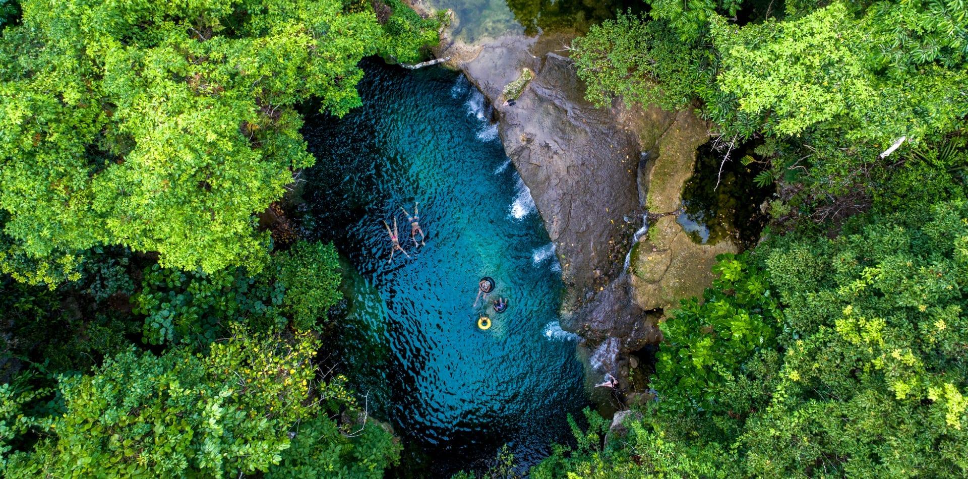 Tropical lagoon in Vanuatu