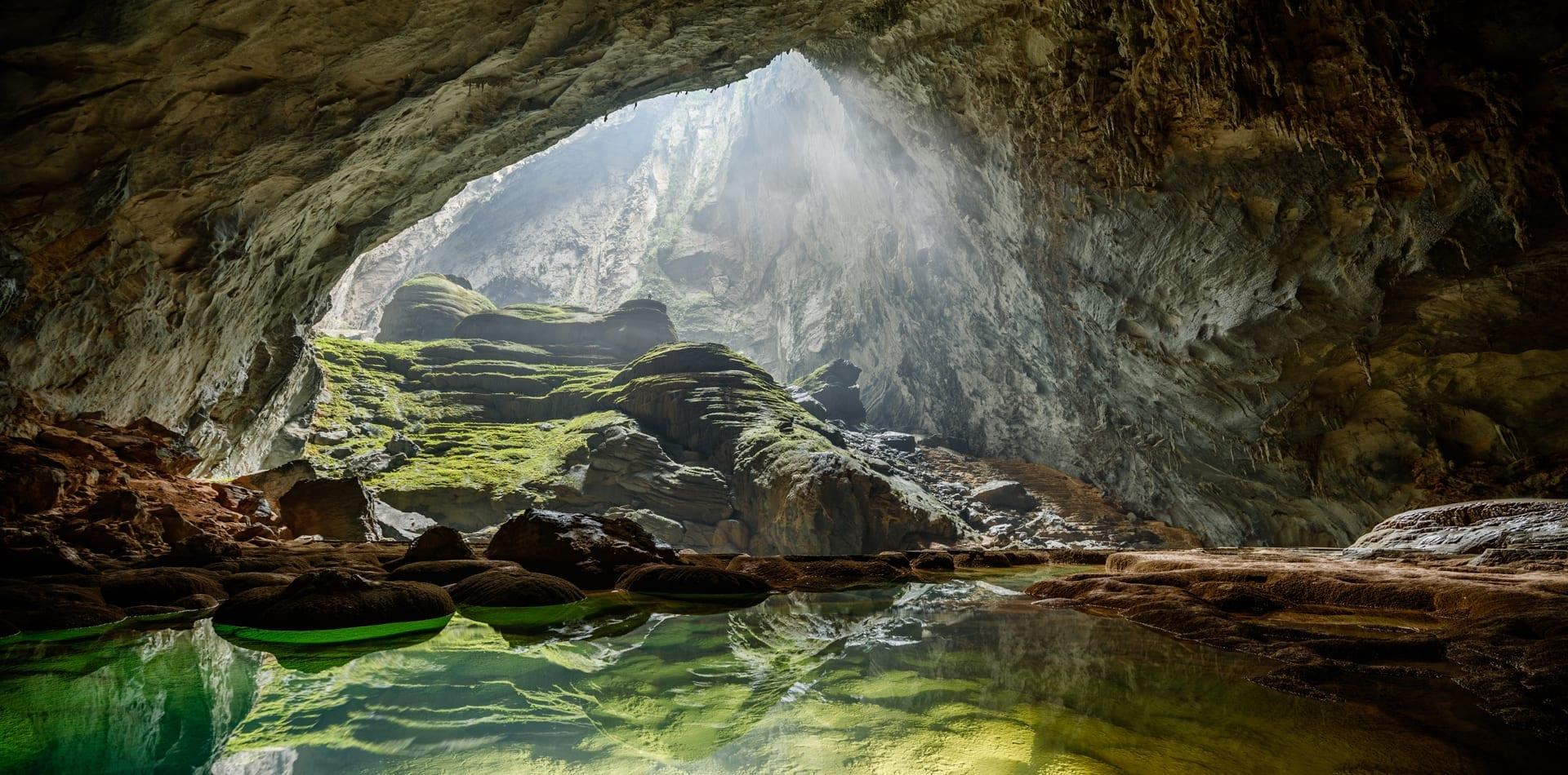 Vietnam Cave Pool