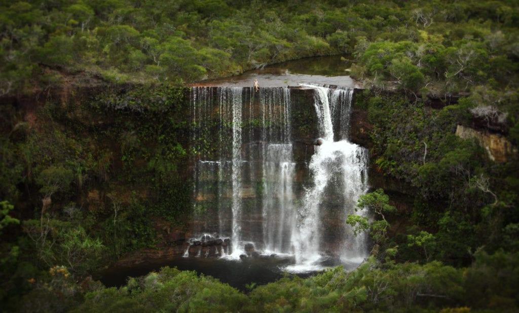 Waterfall Experience at Haggerstone Island Australia