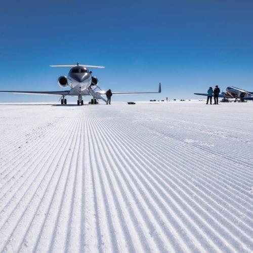 Antarctica Wolfs Fang Runway