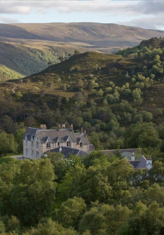 Alladale Lodge in Scotland