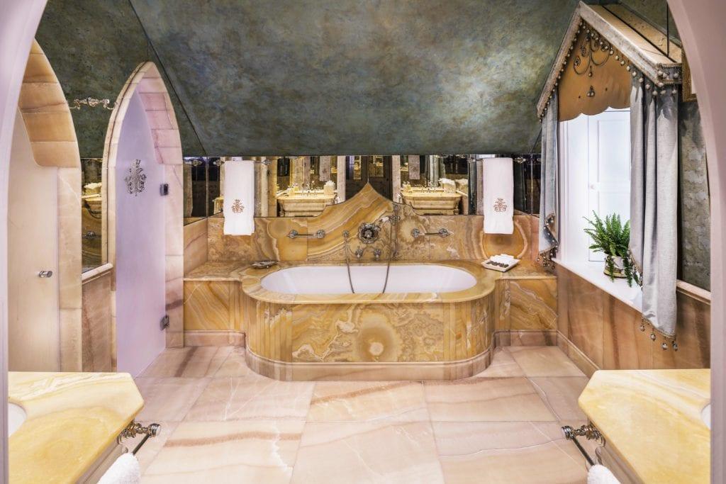 ashford castle bathroom ireland