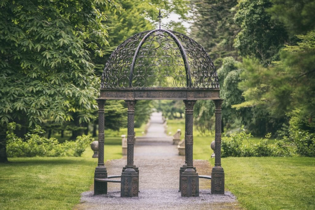 ashford castle ireland garden path