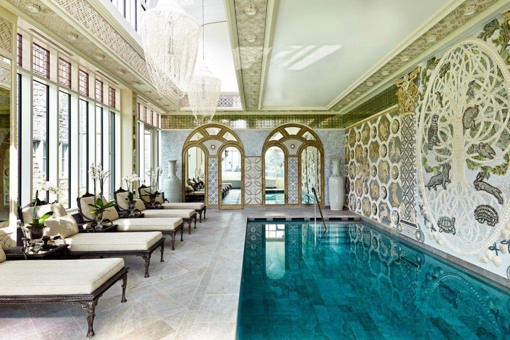 indoor swimming pool ashford castle ireland